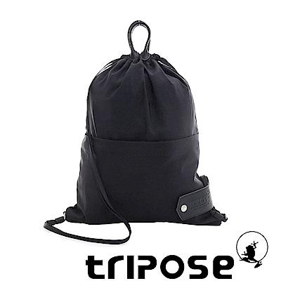 tripose 微旅超輕量可攜式折疊後背包 黑