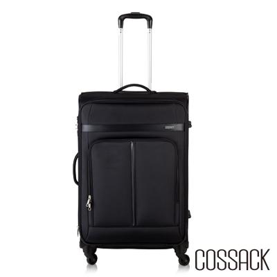 Cossack - STRESS講究 -26吋可放大行李箱(黑色)