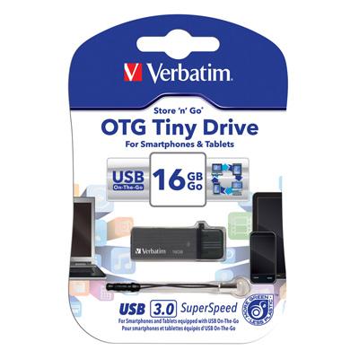 Verbatim 威寶 16GB OTG <b>3</b>.<b>0</b> TITANIUM雙介面手機平板高速隨身碟