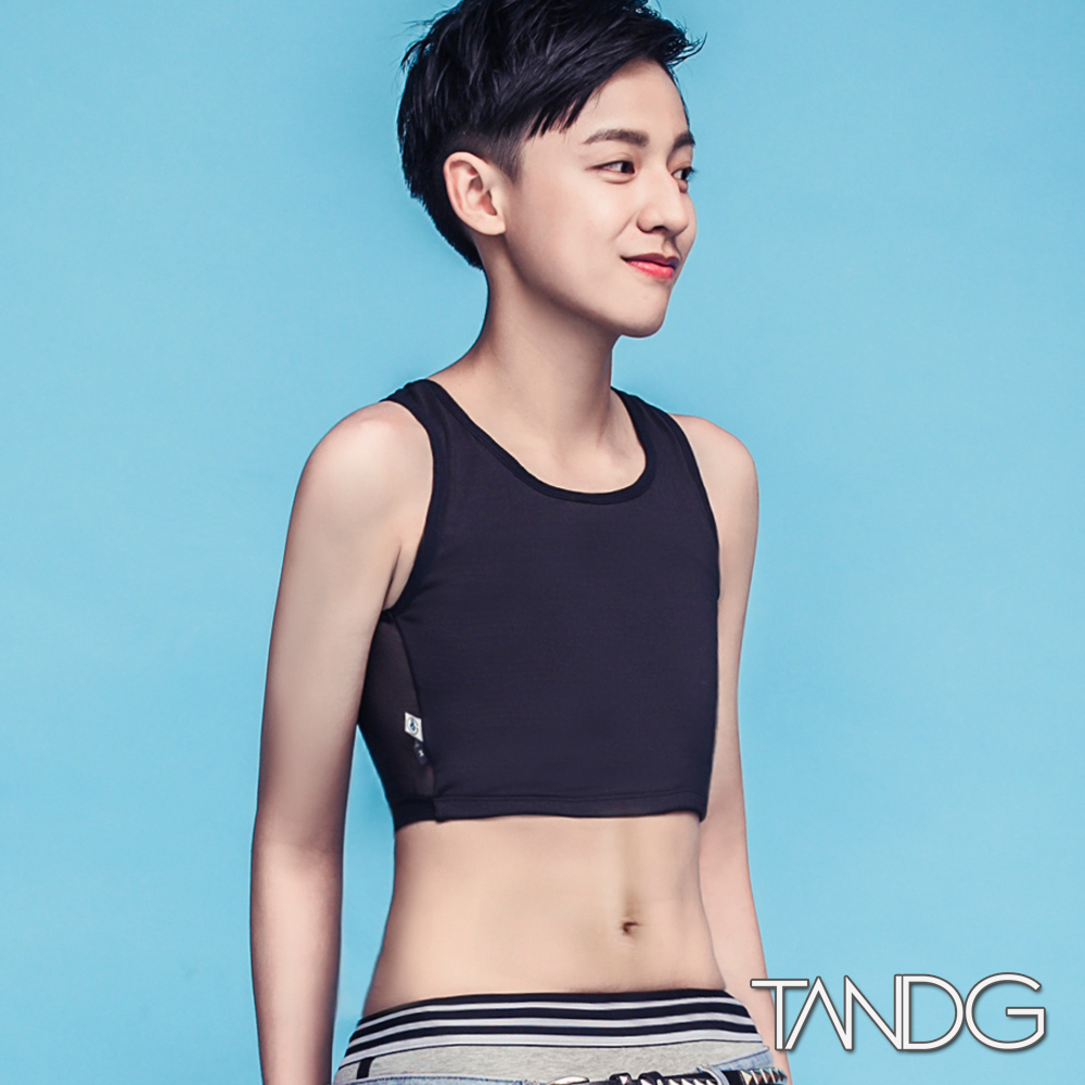 T&G Combo超薄機能款-半身拉鍊束胸(黑)