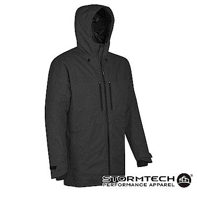 【加拿大STORMTECH】EPJ-1 商務機能防水透氣科技棉蓄熱長版外套-男-黑
