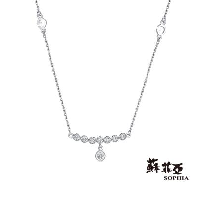 蘇菲亞SOPHIA 鑽鍊 - 小公主鑽石套鍊