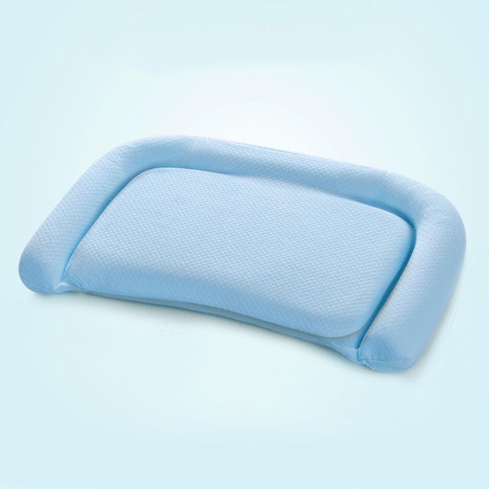 義大利Fancy Belle 多功能舒眠透氣兒童記憶枕-藍