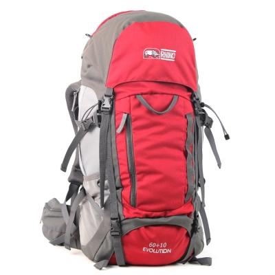 犀牛Evolution 60+10公升易調式背包-紅