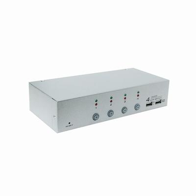 NuSwitch CD-104CA 4 PORT PS2/USB KVM 電子式電腦切換器
