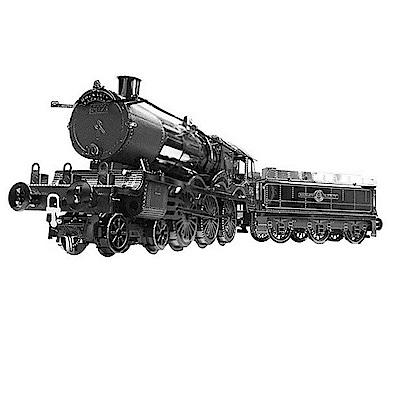 T.Y/金屬拼圖 B-MN-002 哈利波特霍格華茲列車