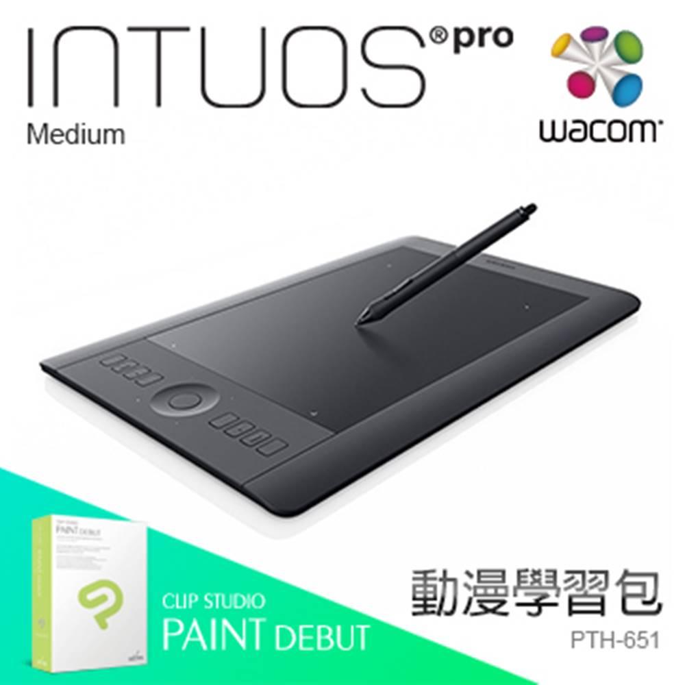 [漫畫學習包] Wacom Intuos Pro Touch Medium 繪圖板