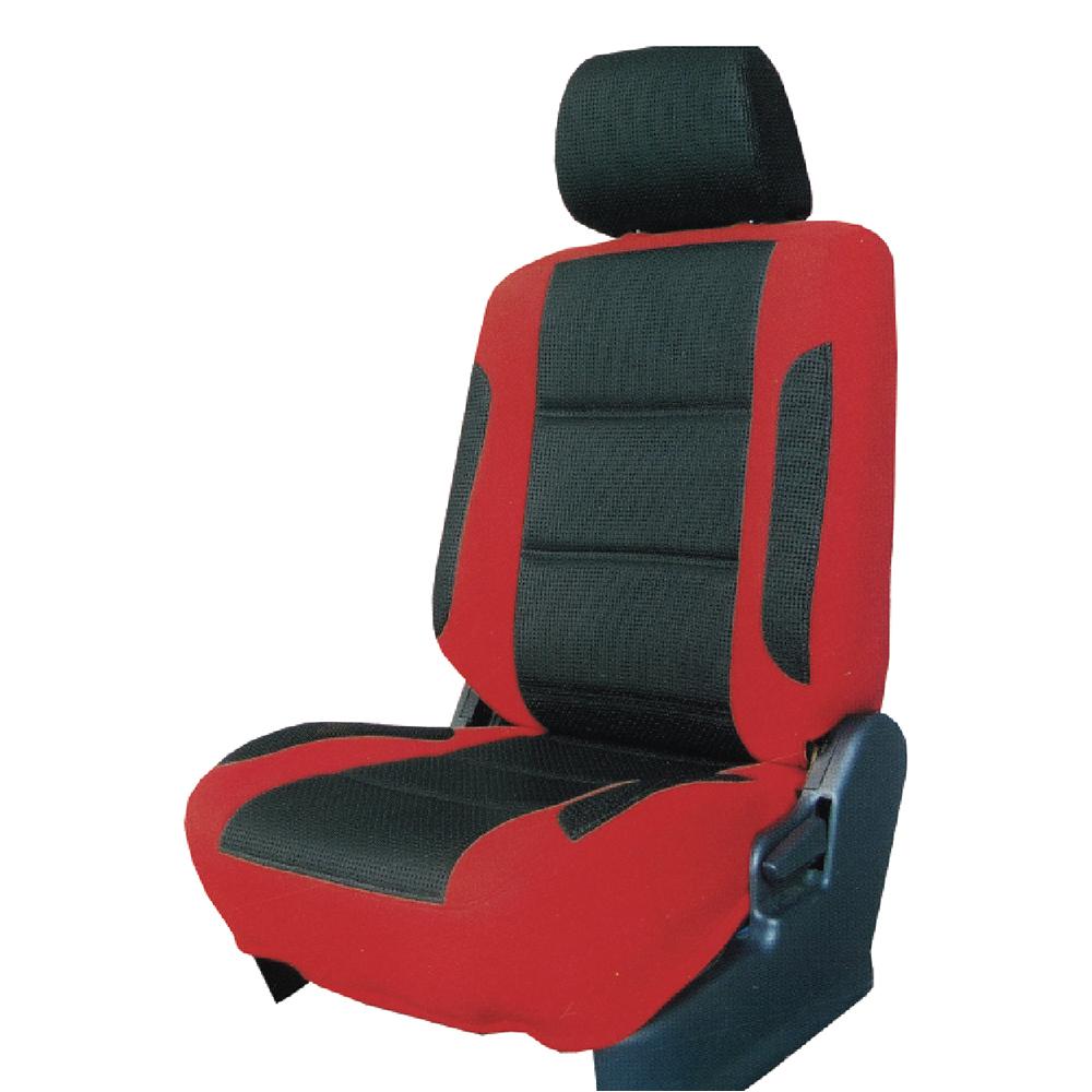 【葵花】量身訂做-汽車椅套-日式合成皮-賽車時尚配色-雙前座