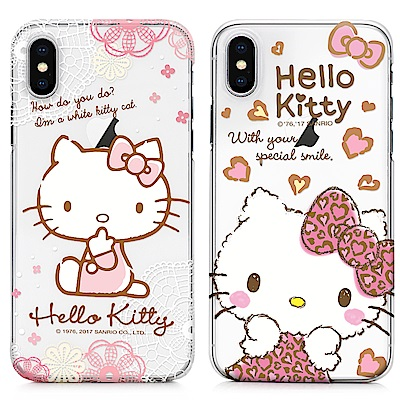 GARMMA Hello Kitty iPhone X 硬式保護殼