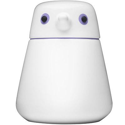 QDO 雪鳥收納罐(紫M)