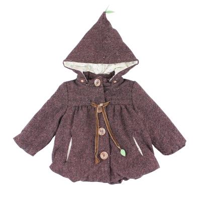 愛的世界 pappa&ciccia 舖棉混羊毛長袖外套/1~4歲