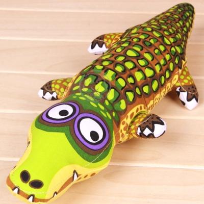 美國FATCAT》中大型耐咬發聲玩具大鱷魚38cm