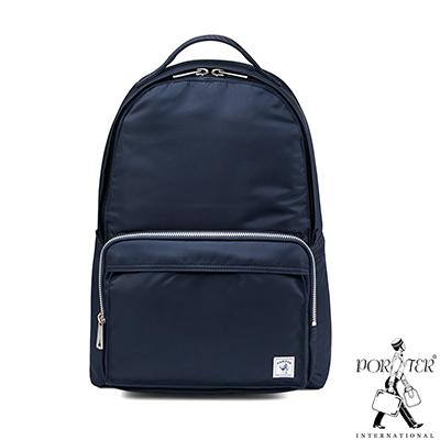 PORTER - 經典氣度MA-1+簡約時尚後背包 - 深藍