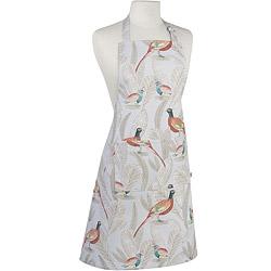 NOW 平口單袋圍裙(長尾鳥)