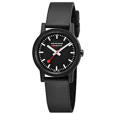 MONDAINE 瑞士國鐵essence系列腕錶-32mm/黑