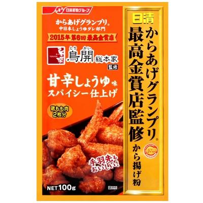 日清 最高金賞炸雞粉-甜辣醬油風味(100g)