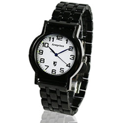 【Arseprince】Y世極簡時尚中性錶-黑色