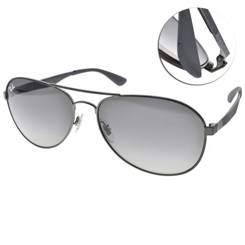 RayBan太陽眼鏡 經典品牌/槍銀#RB3549 02911