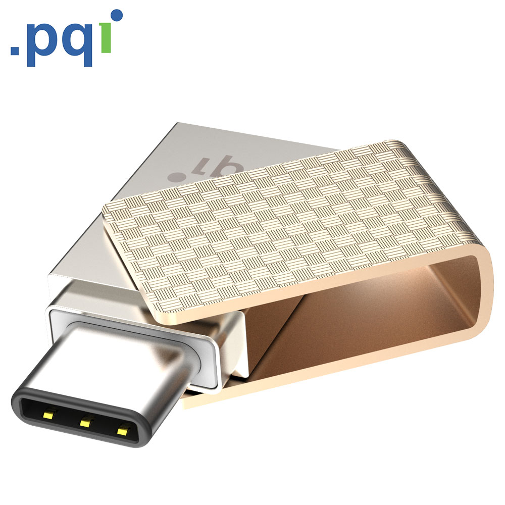 PQI Connect 313 USB3.1 Type-C OTG 64G 高速隨身碟