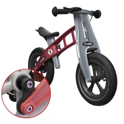 FirstBike-德國設計兒童滑步車-降低車身-大蘋果紅
