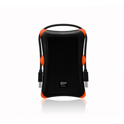 SiliconPower 廣穎 A30 HDD 1TB 2.5吋行動硬碟-黑色