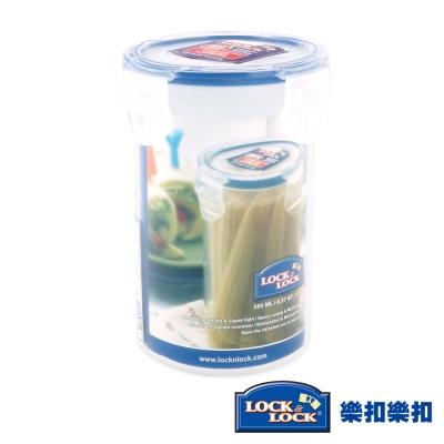 樂扣樂扣CLASSICS系列PP高桶保鮮盒-圓形350ML(8H)