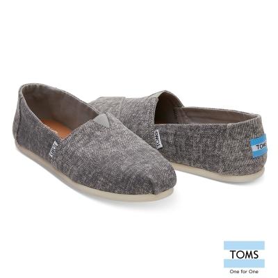 TOMS 經典水洗帆布休閒鞋-女款
