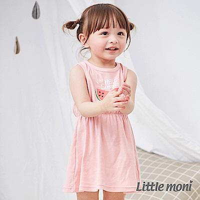 Little moni 家居系列背心洋裝 (2色可選)