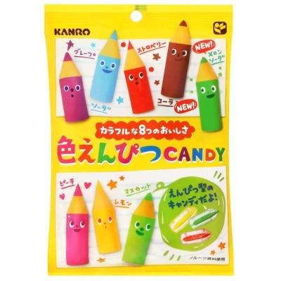 Kanro甘樂 彩色鉛筆糖(80g)