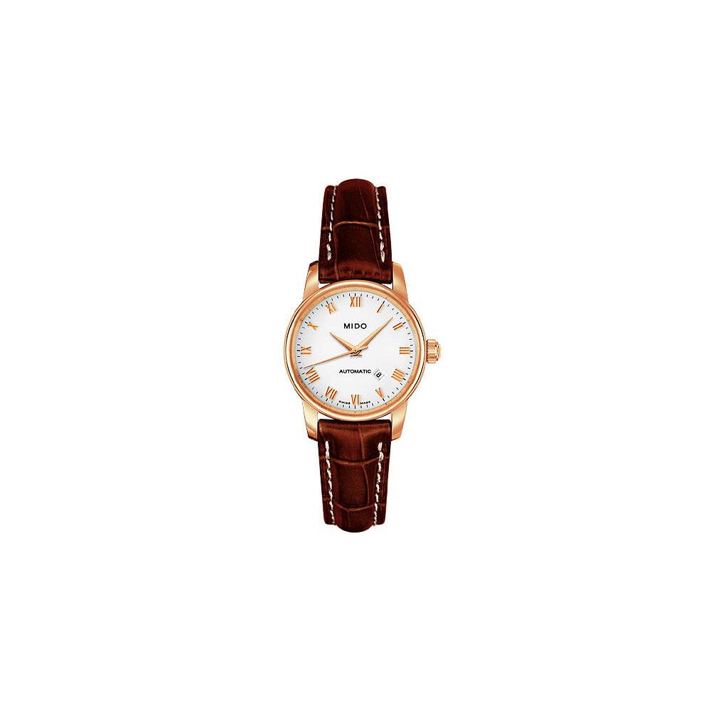MIDO Baroncelli 雅典女神機械皮帶腕錶-29mm