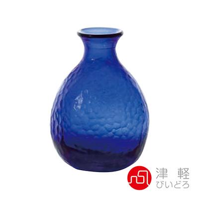 日本ADERIA津輕 耐熱清酒壺190ml-藍