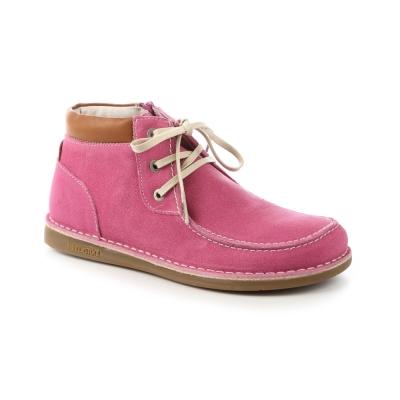 勃肯BIRKENSTOCK 408801。薩迪納兒童長筒靴(粉桃紅)