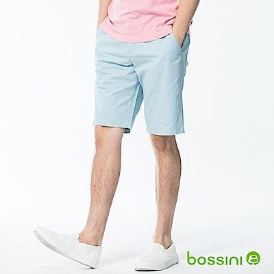 bossini男裝-速乾素色短褲01淡藍
