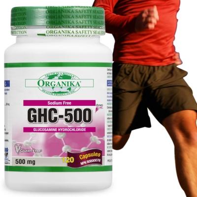 Organika優格康-無鈉葡萄糖胺膠囊500mg(120顆)