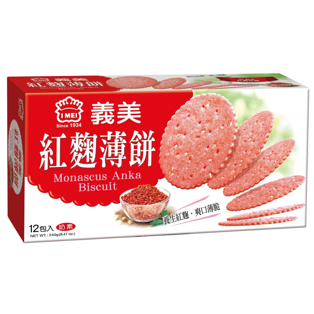 義美 紅麴養生薄餅(240g)