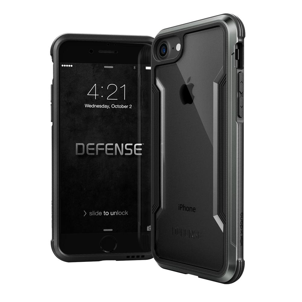DEFENSE刀鋒極盾II iPhone 8 iPhone 7耐撞擊手機殼爵帝黑