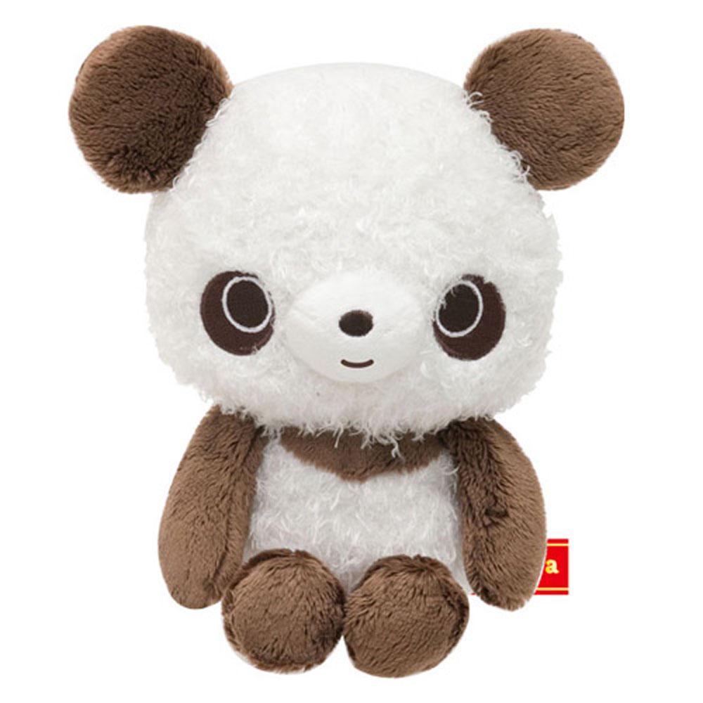 巧克貓熊變身系列毛絨小公仔 (S) 。白