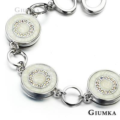 GIUMKA 奢華甜甜圈T字扣手鍊-共4色