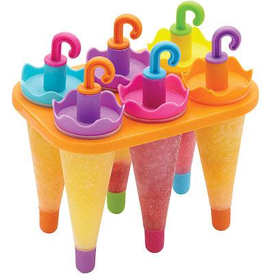 KitchenCraft 雨傘冰棒模6入