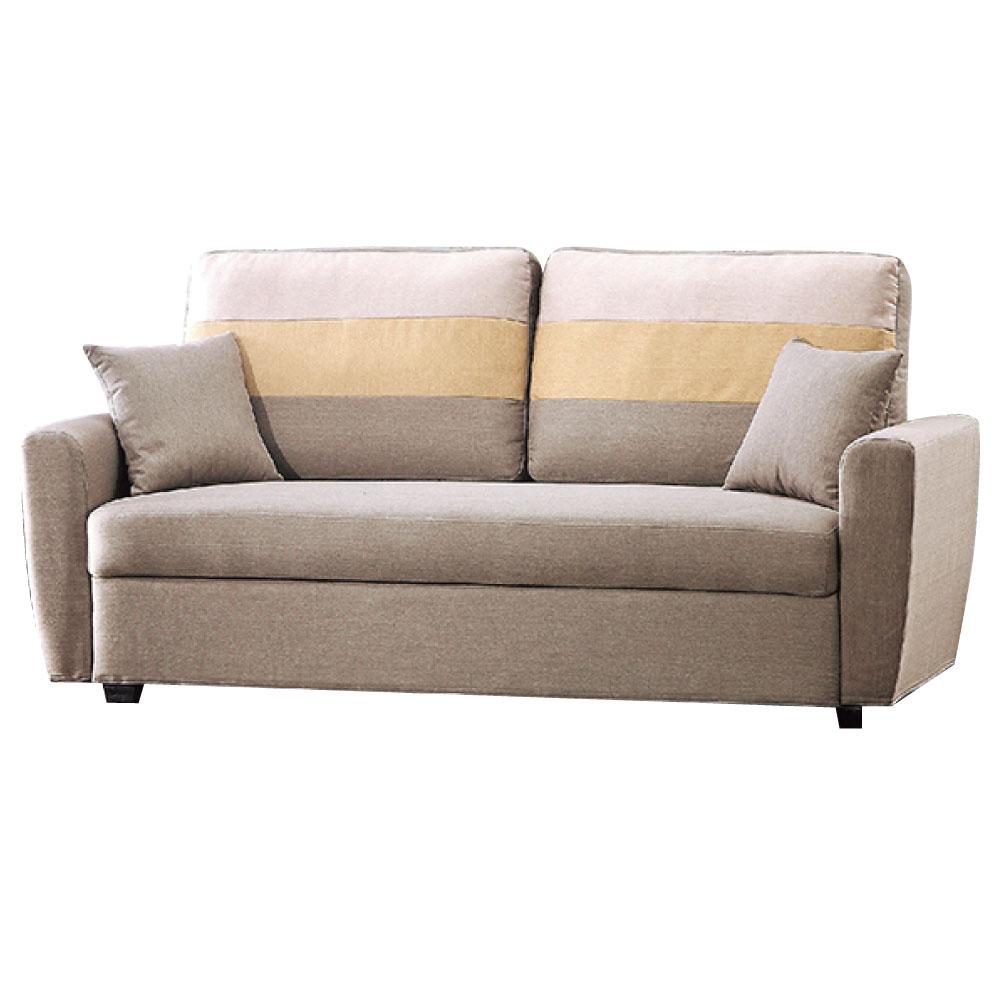 品家居 美夢成真收納布面雙人座沙發(四色可選)