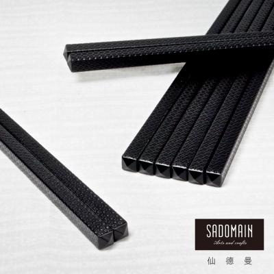 仙德曼 SADOMAIN  高玻抗菌筷-雲海10雙