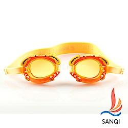 SANQI三奇  兒童泳鏡(4700-橘)