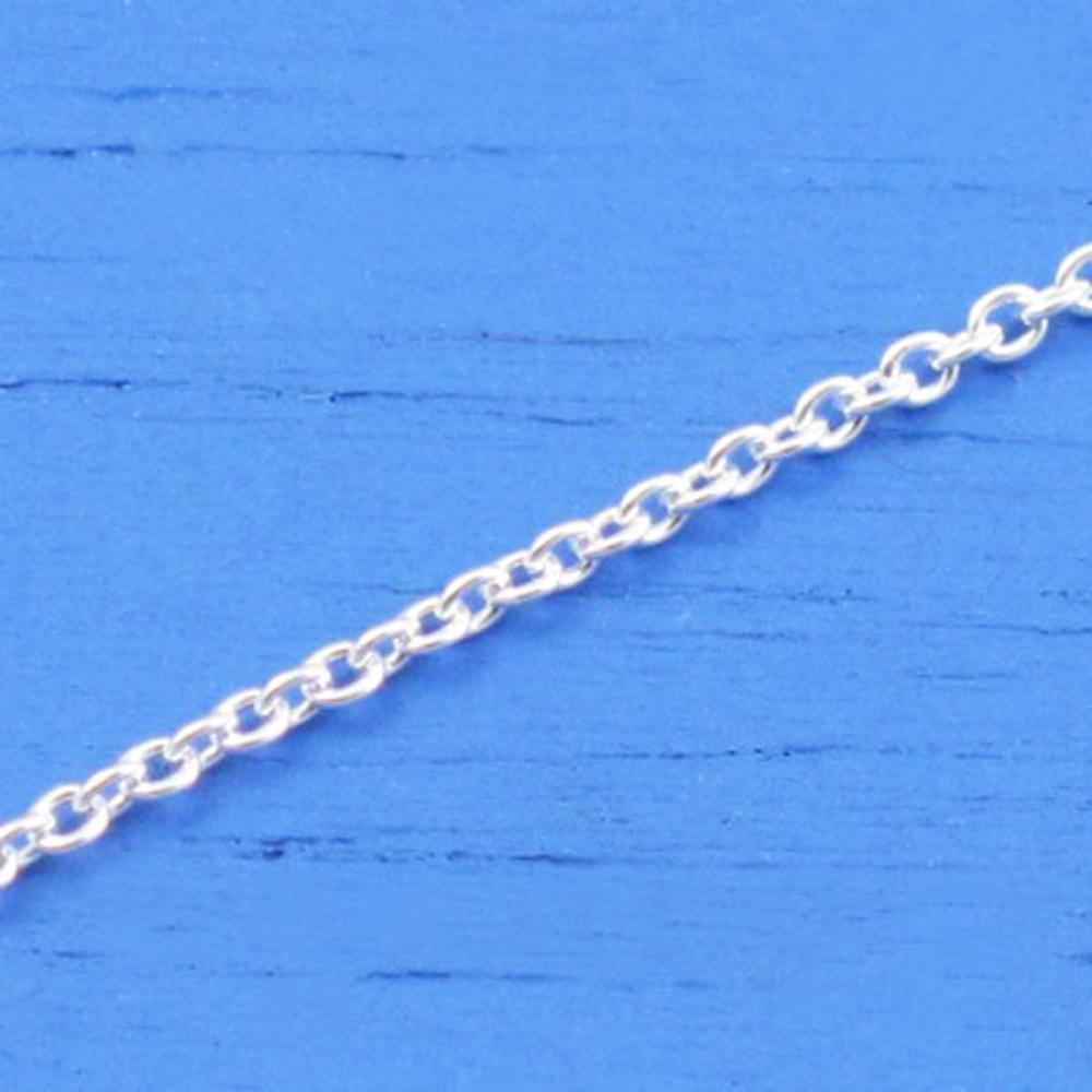 維克維娜 18吋純銀美人鍊。義大利925純銀單鍊