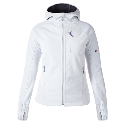 【Berghaus 貝豪斯】女款防風刷毛保暖外套H22FS2灰