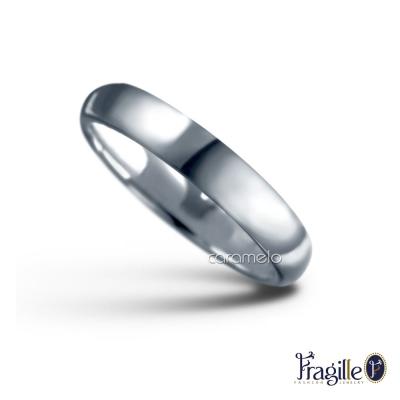 彩糖鑽工坊 幸福指輪系列 925銀戒 3MM寬