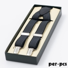 per-pcs 紳士品味吊帶/吊帶夾_黑灰(315-0002)