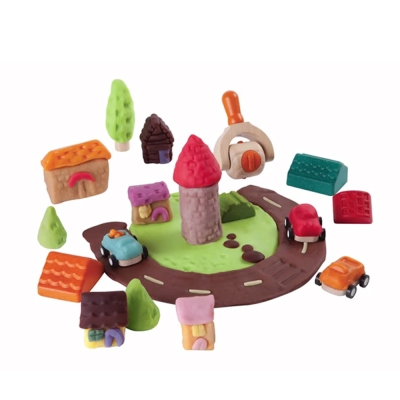 黏土模具-GMP BABY PLAN TOYS 城市模具組