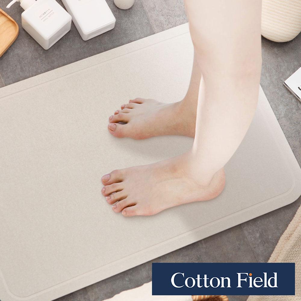 棉花田 平原 日本人氣珪藻土吸水抗菌浴墊(39x60cm) - 吸水乾燥