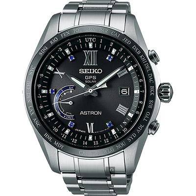 SEIKO ASTRON GPS 135週年限量鈦衛星太陽能腕錶(SSE117J1)