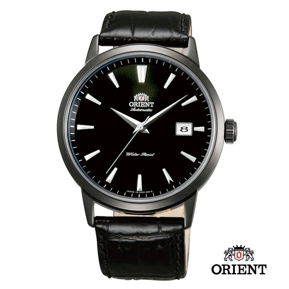 ORIENT 東方錶 DATE系列 日期顯示功能機械錶-黑色/41mm